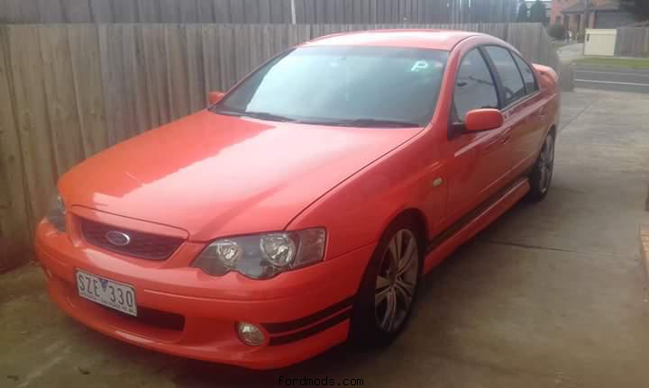 Xr6 ba ford felcon